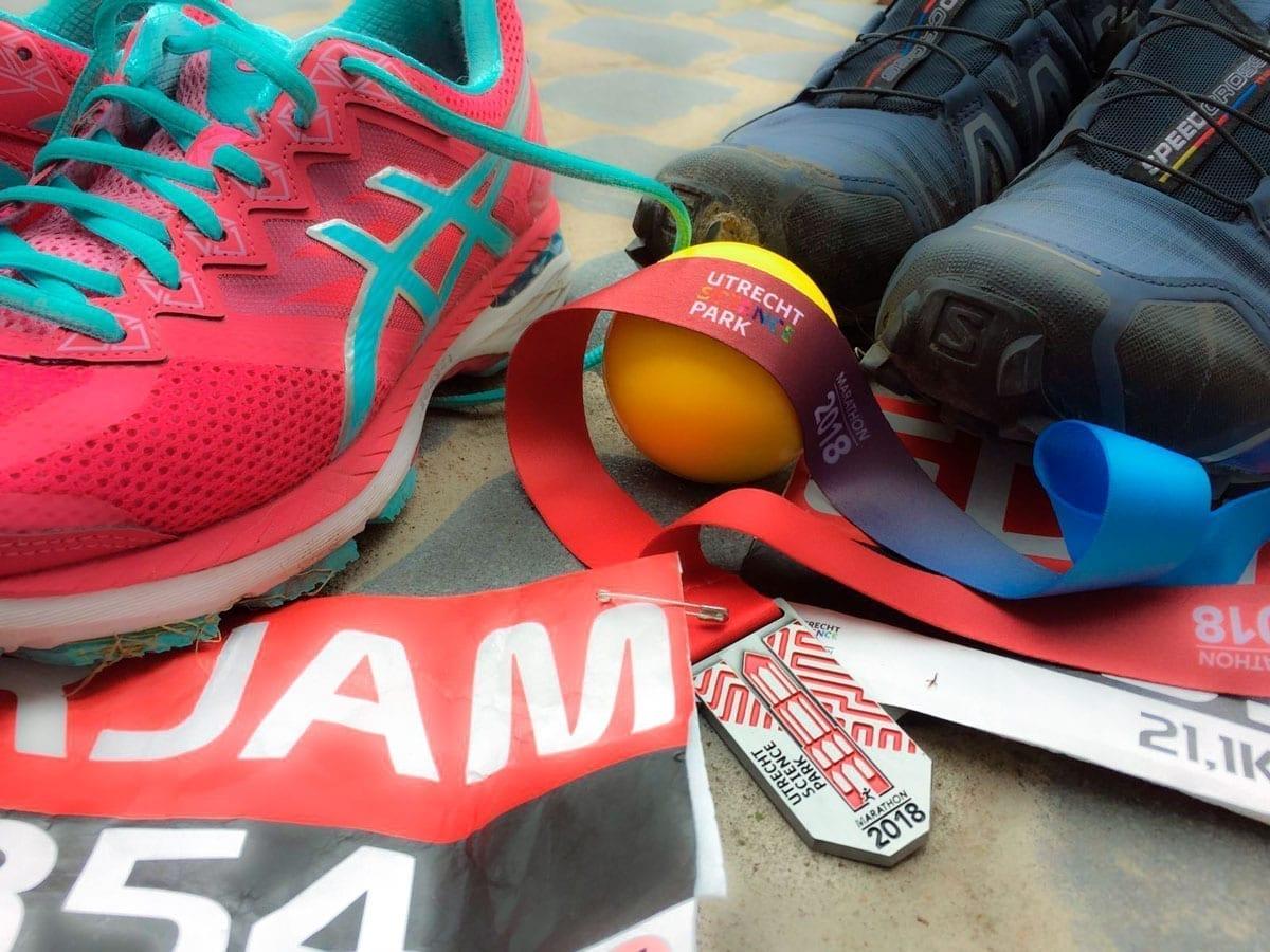 De Bal bij de halve marathon Utrecht